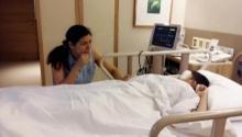 หัวใจแม่แทบสลาย เศรษฐีนี ป. 6  นอนกอดลูกน้อยฟื้นจากความตาย
