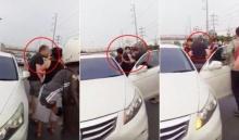 โผล่อีกคลิป ฝรั่งตะคอก-ผลักคนไทยที่ขับรถเฉี่ยวชน สั่งให้ทำแบบนี้... ประวัติจะซ้ำรอย