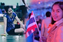 น้องเมย์ โพสต์IGภูมิใจถือธงชาติไทยพิธีเปิดอลป.