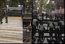 ทหารของพระราชา!รวมพลังสร้างสะพานข้ามคลอง ระบายประชาชน เสร็จในข้ามคืน