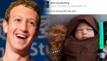 เก๋ๆ มาร์ค ซัคเคอร์เบิกร์ก จับลูกสาว แต่งเป็น เจไดน้อย!