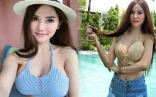 เผยหน้าสด น้องบลู สาวเซ็กซี่ขวัญใจชายไทย แต่ทุกสายตากลับโฟกัส ฟาร์มนม