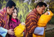 """เผยภาพชัดๆเต็มๆ!!""""เจ้าชายน้อย"""" โอรสกษัตริย์จิกมี แห่งภูฏาน!!"""