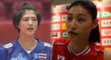 แชร์สนั่น!! ภาพวอลเลย์บอลหญิง ไทย-เกาหลี ก่อนแข่งมีโมเม้นต์แบบนี้ด้วยนะ!!