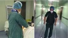 คุณหมอหัวใจน่ากราบ ยืนขาเดียวผ่าตัดให้คนไข้นานถึง 2 ชั่วโมง