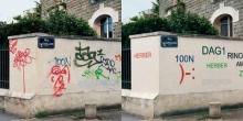 เจ๋งอ่ะ!! เปลี่ยนภาพสุดแสบของเหล่ามือบ่อนทั่วเมืองฝรั่งเศส ให้ดูสวยเป็นระเบียบมากขึ้น