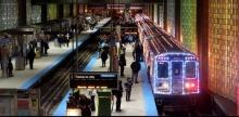 ชิคาโก้ ต้อนรับคริสต์มาส ด้วยรถไฟเรืองแสง!
