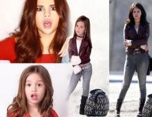 น่ารักเวอร์ !!! เมื่อแฟนคลับตัวน้อยแปลงโฉมเป็น Selena Gomez