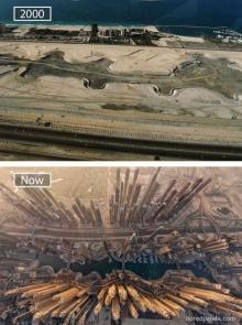 สุดอึ้ง !! 20 ภาพก่อน-หลังของเมืองทั่วโลก บอกเลย โคตรเจ๋ง !!