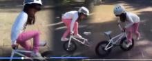 น้องโคตรเจ๋งเลยเฟร้ย! หนูน้อย โชว์ ลีลา ปั่นจักรยานผาดโผนทึ่งฝุดๆ