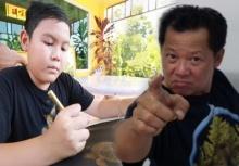 อ.เฉลิมชัยยังทึ่ง!!กับฝีมือการวาดภาพลายไทยของเด็ก9ขวบ!!