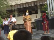 วันภาษาไทยโรงเรียนนี้ คุณครูพิษสวาทไปได้อีกนะเออ!!