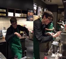 ผมก็ทำได้ Starbucks รับ'เด็กออทิสติก' เข้าทำงาน โชว์ลีลาการทำกาแฟที่ไม่เหมือนใคร