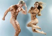 ศิลปะล้วนๆ!!ดูกันชัดๆความสวยงามของกล้ามเนื้อทั้งชายหญิง!!