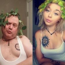 คุณพ่อสุดเกรียนเซลฟี่แข่งลูกสาวหลังชอบถ่ายรูปเซ็กซี่ !!