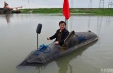 ชาวจีนสร้างเรือดำน้ำทุนต่ำ ด้วยเงินเพียง 2 หมื่นกว่าบาท!?