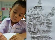 ทำได้อย่างไร! ภาพศิลปะ พวกนี้ฝีมือเด็ก อนุบาล!!