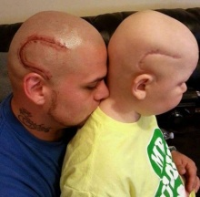 น้ำตาจะไหลความรักที่พ่อมีต่อลูก จนยอมทำแบบนี้เพื่อลูกไม่ใช่ตัวประหลาด