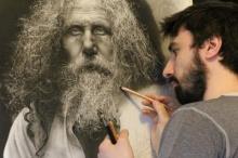 โคตรเจ๋งง ศิลปินใช้เวลากว่า 100 ชั่วโมงกับผลงานชิ้นนี้....