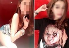 """วาร์ปด่วน!!! เฟซบุ๊ก 2 สาวสวย! โยงคดีฆ่าแอ๋ม เผยภาพ """"ชัคกี้"""" ตุ๊กตาหั่นศพ"""