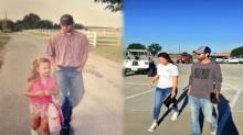 โคตตรประทับใจ!! สาวแชร์เรื่องราวของคุณพ่อ เดินไปส่งโรงเรียนวันแรกและวันสุดท้าย!