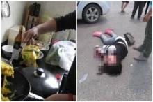 """สาวไม่รู้ว่า """"ตัวเองถูกรถชนตาย"""" กลับบ้านไปทำอาหารให้ลูก"""