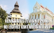 เว็บไซต์ระดับโลกเปิดผลสำรวจปีล่าสุด เผย 10 อันดับ มหาวิทยาลัยที่ดีที่สุดของไทย!!