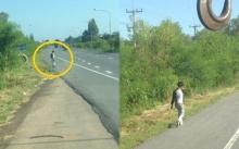 หนุ่มถูกผู้รับเหมาชิ่งหนี ชีวิตมืด 8 ด้าน เดินตามถนนไปเรื่อยๆ หวังกลับบ้านที่อุบลฯ โชคดีมีคนมาเห็นเข้า?