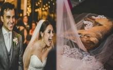 """สุดพีค!! เมื่อ """"สุนัขจรจัด"""" เข้ามาหลบฝนในพิธีแต่งงาน เจ้าบ่าว-เจ้าสาวจึงจัดการทำแบบนี้?"""