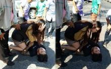 นางฟ้าชัดๆ!! สาวเห็นคนโดนรถชน รีบวิ่งไปช่วยไม่คิดชีวิต แถมดีกรีไม่ธรรมดา!!?