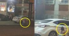 ชาวเน็ตโพสต์ภาพ 2 สาว ท่าทางลับๆล่อๆ อยู่ข้างรถยนต์สีขาว เมื่อซูมเข้าไปใกล้ถึงกับสะดุ้งโหยง