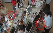 ชาวเน็ตแฉคลิปกลโกง!! ลูกค้าจ่ายแบงก์พัน แต่ พนง.กลับซ่อนเงินใต้เคาท์เตอร์ บอกได้แบงก์ร้อย (มีคลิป)