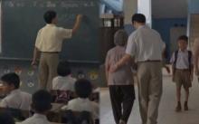 คุณครูหนุ่มพาแม่ไปโรงเรียนทุกวัน จนเกือบถูกไล่ออก พอรู้เหตุผลถึงกับน้ำตาไหล? (มีคลิป)