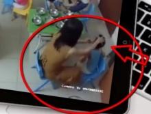 คลิปโหดออนไลน์เนิร์สเซอรี่ฮานอยเลี้ยงเด็กน้อยด้วยหลังมือ