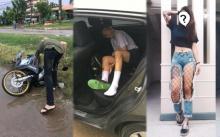 เปิดวาร์ป!! สาวสักลายหัวใจงาม ถูกนักเรียนขับรถชนยับ แต่บอก ไม่เป็นไรนอนรอในรถพี่ก่อน !
