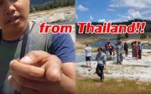 พี่ไทยเอาอีกแล้ว! แอบรุกเขตอุทยานห้ามเข้า เตือนไม่สน-บอก from Thailand!! (คลิป)