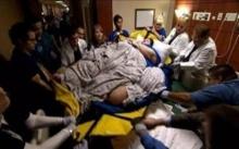 """ทีมแพทย์ระดมพลทำคลอด """"สาวร่างยักษ์"""" น้ำหนัก 250 กิโล!! พีคหนัก!! เมื่อเห็นทารก แทบไม่เชื่อสายตา"""