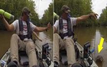 พ่อพาลูกสาวไปตกปลา ดีใจนึกว่าได้ปลาตัวใหญ่ แต่พอหันไปเห็น..? รีบถีบเรือหนีไม่คิดชีวิต!!