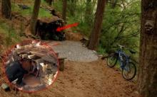 หนุ่มขี่จักรยานเที่ยวป่า! จู่ๆพบกระท่อมปริศนา เข้าไปดูถึงกับอึ้ง ไม่คิดว่าจะมีแบบนี้อยู่จริงๆ!