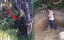หนุ่มขุดสวนหลังบ้านตัวเองเป็นปีๆ จนเพื่อนบ้านต่างพากันว่าเขา บ้า ไม่น่าเชื่อตอนนี้..?