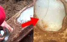 คนงานก่อสร้างขุดเจอ โลงศพเด็ก ที่มีกระจกใสด้านหน้า ถูกฝังมา140 ปี! พอส่องมองข้างในยิ่งอึ้งหนัก?