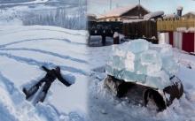 นี่คือหมู่บ้านที่มีอุณหภูมิ -60 องศาฯ ชาวบ้านใช้ชีวิตด้วยความหนาวเหน็บ แม้จะหาน้ำกินยังยากลำบาก!