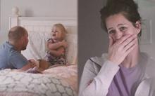 เมื่อแม่แอบได้ยิน ลูกสาวคุยกับพ่อ พอฟังจบ เธอถึงกับน้ำตานองหน้า?