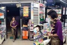 งานก๊อปเกรดเอ! เมื่อ แม่หญิงการะเกด บุกซื้อน้ำปลาหวานกลางเซเว่นฯ มีฮาน้ำตาแตก (มีคลิป)