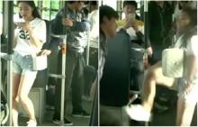 สาวสวยใจเด็ด บรรเลงเพลงกังฟูจัดหนักโจรล้วงกระเป๋าบนรถเมล์