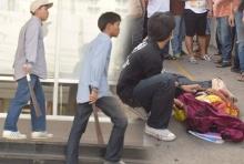 นักเรียนหรือนักเลง!!ระทึกเด็กอาชีวะชื่อดังย่านดอนเมืองยกพวกตีกัน เลือดสาด