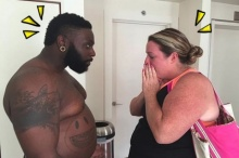 เอาจริง!! เทรนเนอร์ยอมเพิ่มน้ำหนักตัว 30 กิโล เพื่อฝึกลดน้ำหนักไปพร้อมกับสาวอ้วน!(มีคลิป)