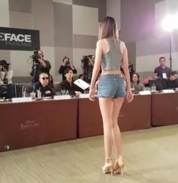 เด็กอายุ 14 เข้าประกวดThe Face Thailand ข้างหลังสวยอย่างกับนางฟ้าแต่พอหันมาเท่านั้นหล่ะ ตาค้าง!