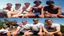 เพื่อนซี้นัดถ่ายรูปหมู่ ที่เดิมและท่าเดิม' ทุกๆ 5 ปี จนอายุ 53 !!