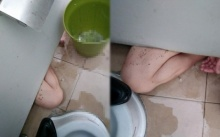 หนุ่มเข้าห้องน้ำที่ บขส. พอจะหยิบขันตักน้ำมาราดที่โถ ก่อนจะเจอภาพสยอง!!